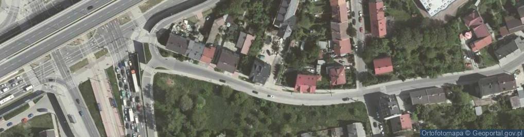 Zdjęcie satelitarne Płaszowska ul.