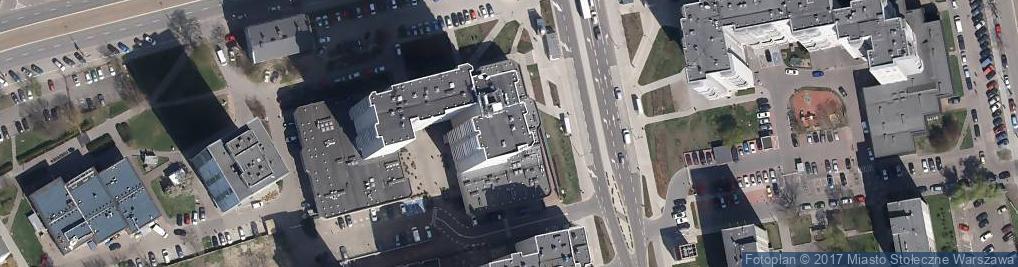 Zdjęcie satelitarne Płocka 17