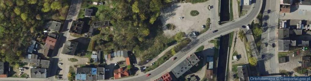 Zdjęcie satelitarne Podmiejska ul.