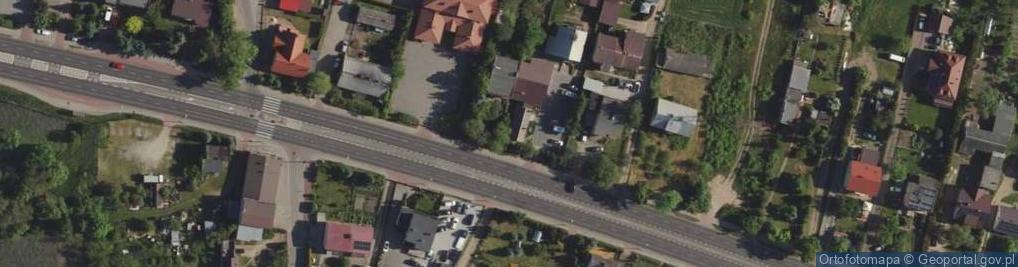 Zdjęcie satelitarne Poznańska 112