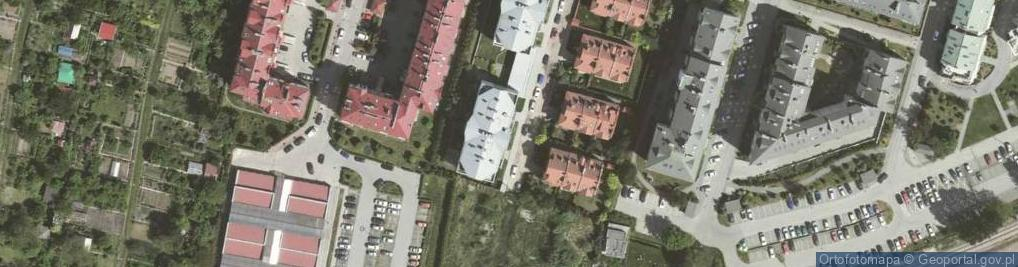 Zdjęcie satelitarne Podkowińskiego Władysława ul.