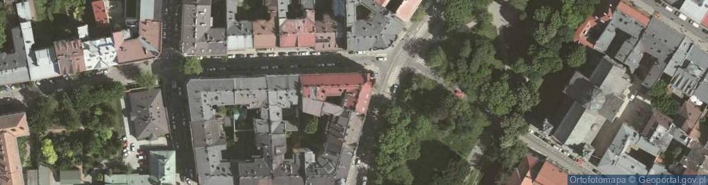 Zdjęcie satelitarne Podwale 3