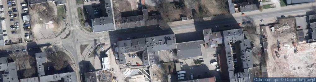 Zdjęcie satelitarne Pomorska 37