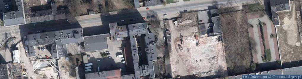 Zdjęcie satelitarne Pomorska 43