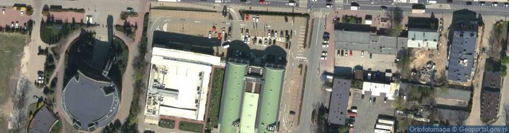 Zdjęcie satelitarne Poznańska 177