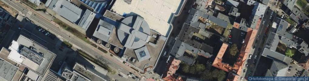 Zdjęcie satelitarne Półwiejska 42