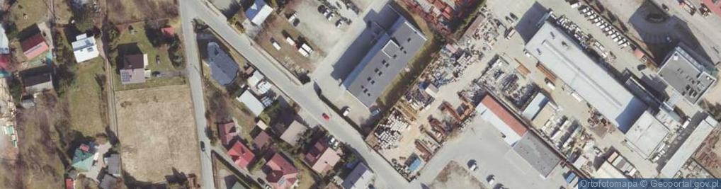 Zdjęcie satelitarne Połonińska 7