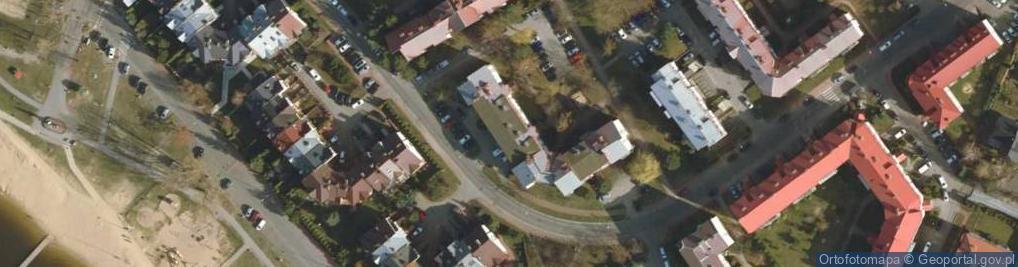 Zdjęcie satelitarne Poznańska 12