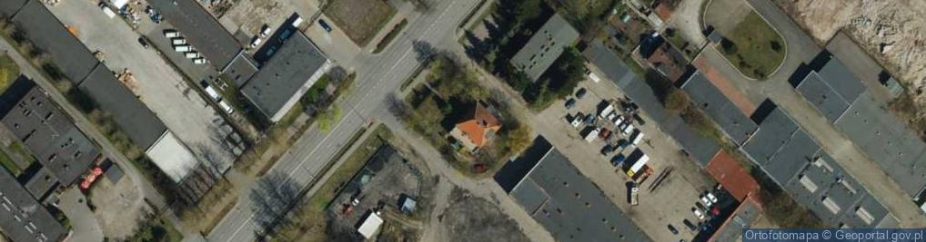 Zdjęcie satelitarne Poznańska 83