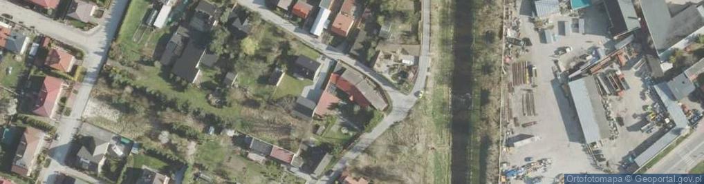 Zdjęcie satelitarne Podgórze 11