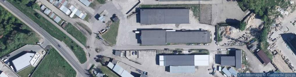 Zdjęcie satelitarne Podleśna 14a