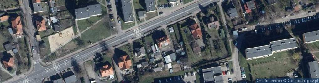 Zdjęcie satelitarne Poznańska 14