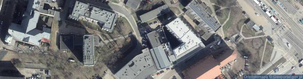 Zdjęcie satelitarne Podgórna 46