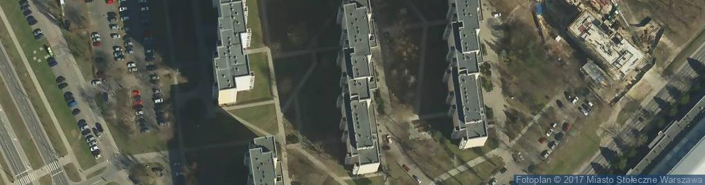 Zdjęcie satelitarne Potocka 8