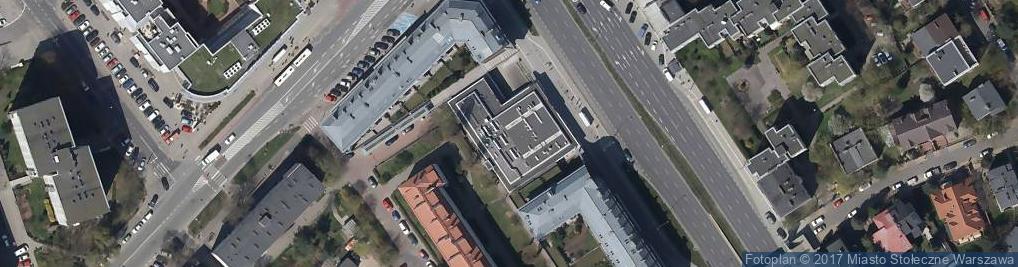 Zdjęcie satelitarne Powsińska 25