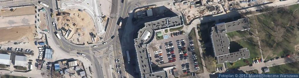 Zdjęcie satelitarne Powstańców Śląskich 70