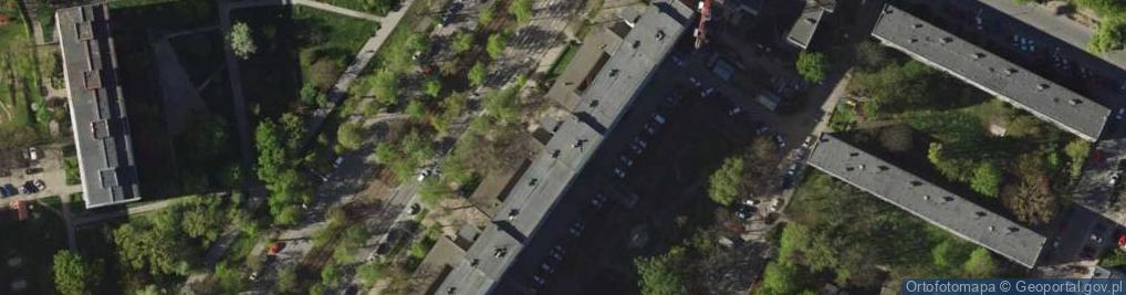 Zdjęcie satelitarne Powstańców Śląskich 114