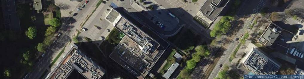 Zdjęcie satelitarne Powstańców Śląskich 7A