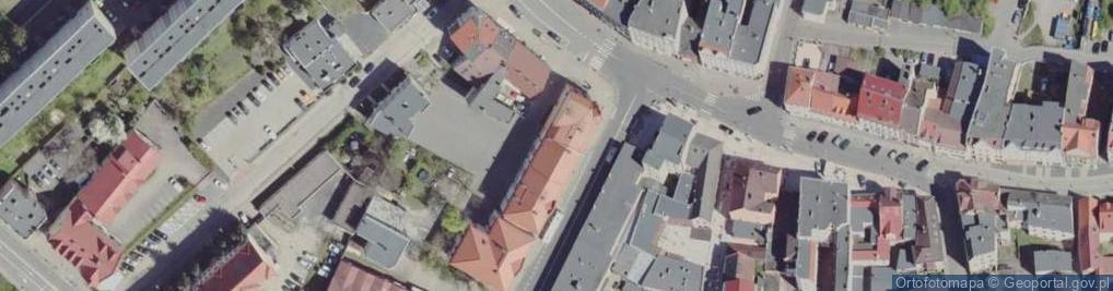 Zdjęcie satelitarne Podchorążych 41