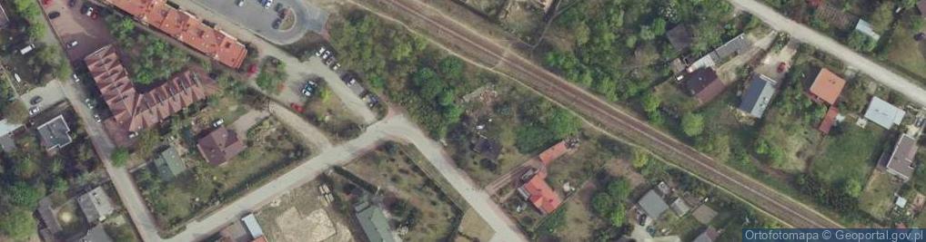 Zdjęcie satelitarne Przystankowa 12
