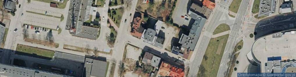 Zdjęcie satelitarne Przecznica ul.