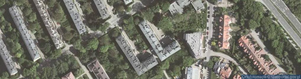 Zdjęcie satelitarne Praska ul.