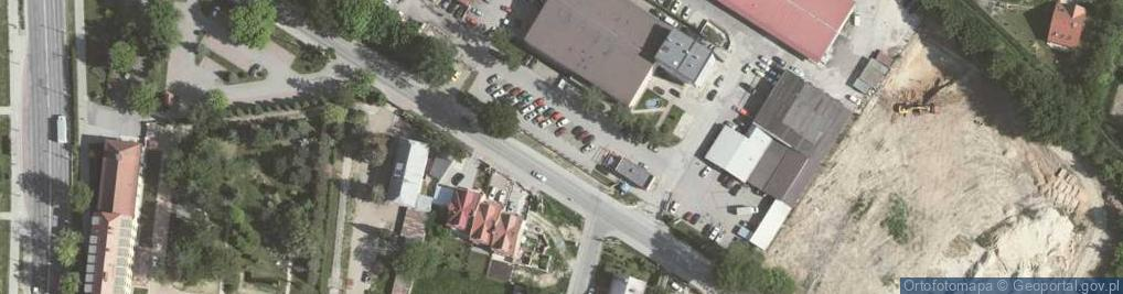 Zdjęcie satelitarne Przewóz ul.