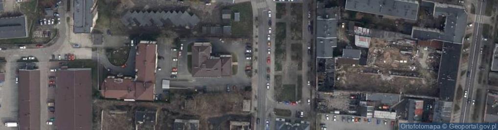 Zdjęcie satelitarne Próchnika Adama ul.