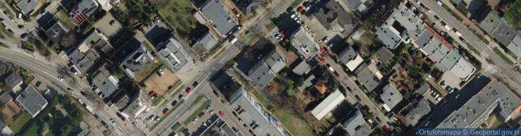Zdjęcie satelitarne Promienista ul.