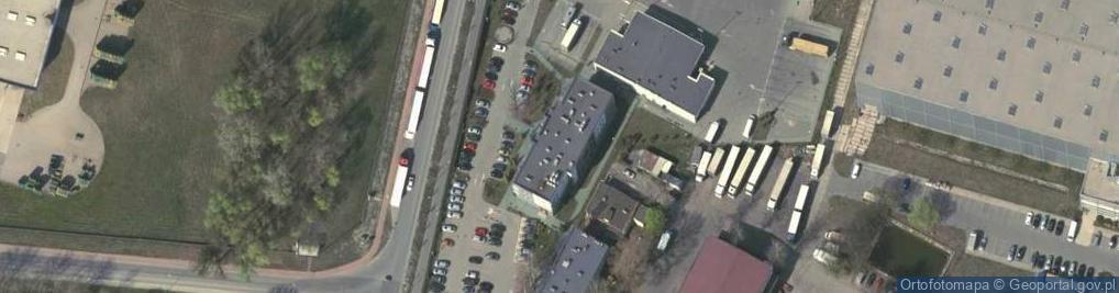 Zdjęcie satelitarne Przejazdowa ul.
