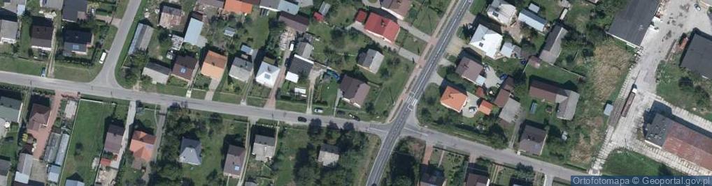 Zdjęcie satelitarne Przedmieście Błonie 134
