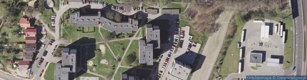 Zdjęcie satelitarne Przemysłowa 13