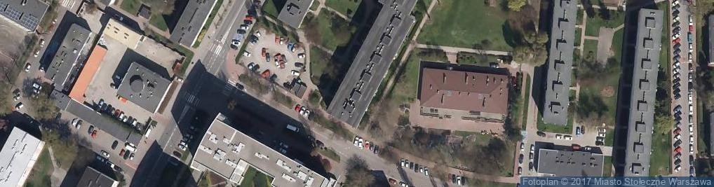 Zdjęcie satelitarne Pruszkowska ul.