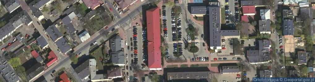 Zdjęcie satelitarne Prądzyńskiego Ignacego, gen. ul.
