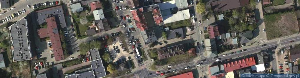 Zdjęcie satelitarne Puławska 14