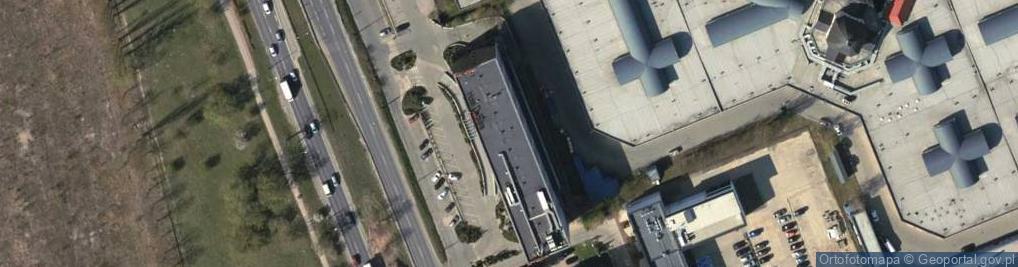 Zdjęcie satelitarne Puławska 42