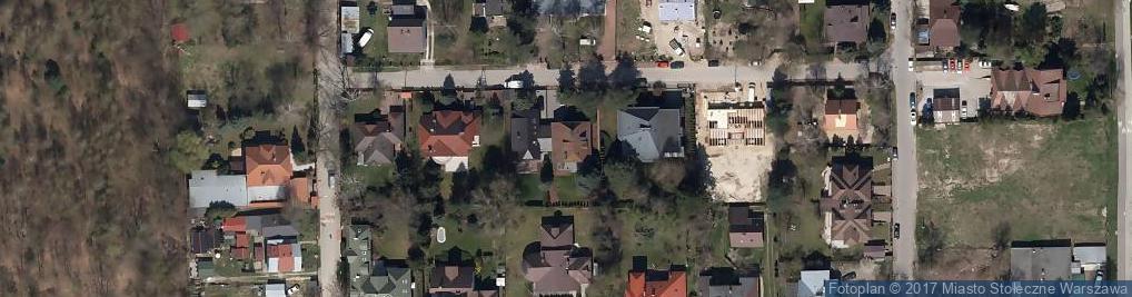 Zdjęcie satelitarne Puzonistów ul.