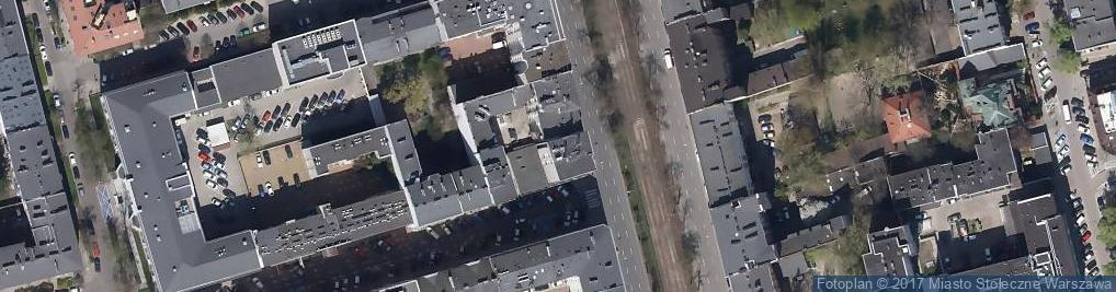 Zdjęcie satelitarne Puławska 16
