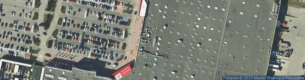 Zdjęcie satelitarne Puławska 427
