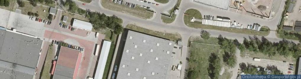 Zdjęcie satelitarne Pyskowicka 14
