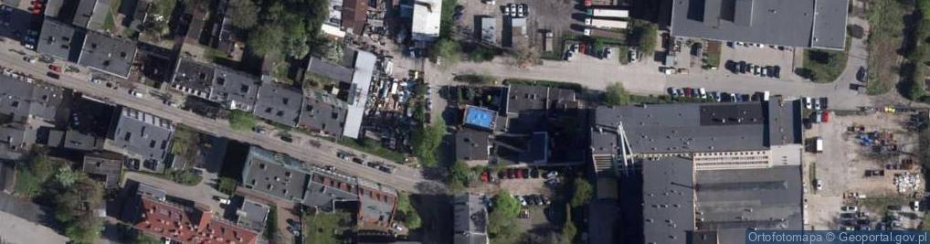 Zdjęcie satelitarne Racławicka 20