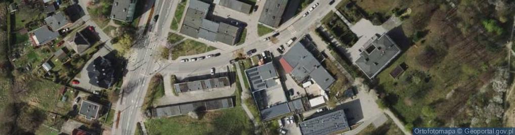 Zdjęcie satelitarne Raduńska ul.