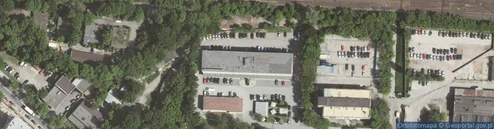 Zdjęcie satelitarne Racławicka 58