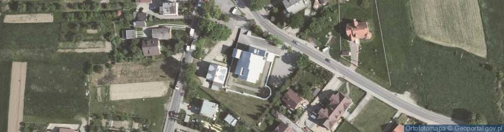 Zdjęcie satelitarne Rączna 6c