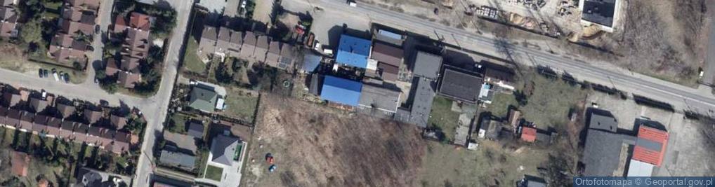 Zdjęcie satelitarne Rąbieńska ul.