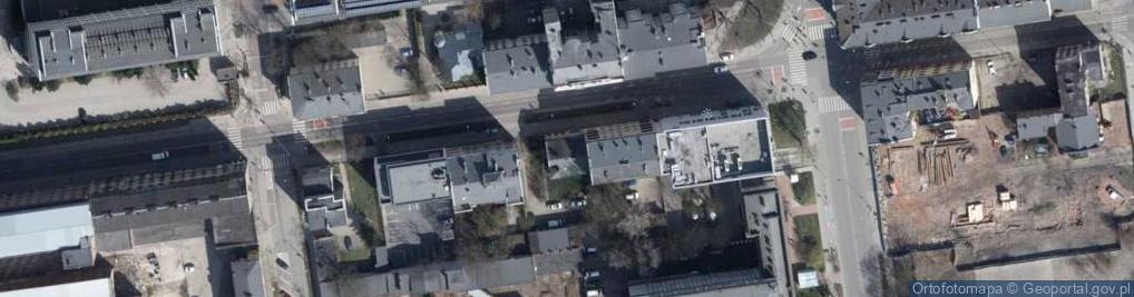 Zdjęcie satelitarne Radwańska ul.