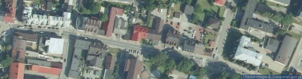 Zdjęcie satelitarne Racławicka 17