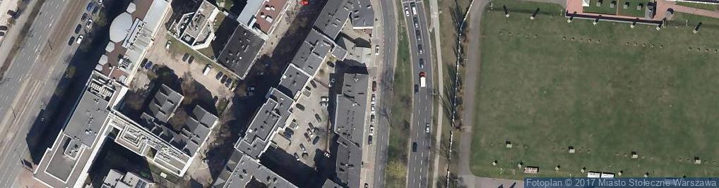 Zdjęcie satelitarne Raszyńska ul.