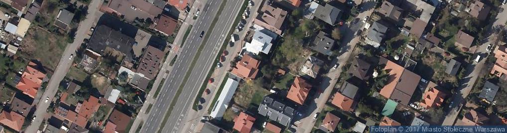 Zdjęcie satelitarne Radzymińska 202A
