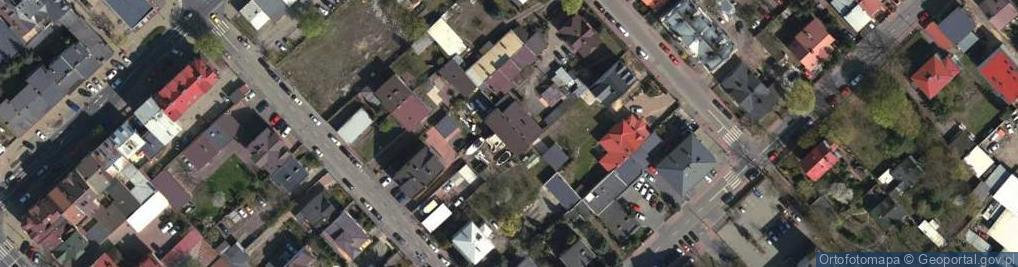 Zdjęcie satelitarne Reymonta Władysława 6